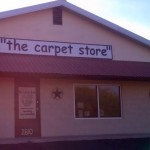 Comic Sans - Carpet Store Logo